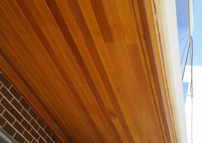 Cedar ceiling by eddy's Timber Flooring, Sydney